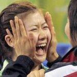 北京五輪2008卓球 福原愛 復活のサーッ