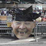 香港デモ~政府庁舎あたり