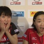 世界卓球2015蘇州 14歳天才卓球少女ほか