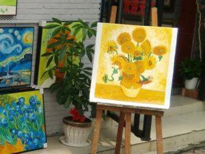 深圳「大芬」油画村について