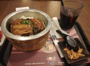 「木桶飯」 中国のローカルめし屋
